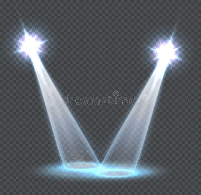 Download Efectos Luminosos Transparentes De La Escena Ilustración del Vector - Ilustración de glowing, hospitalidad: 64209066