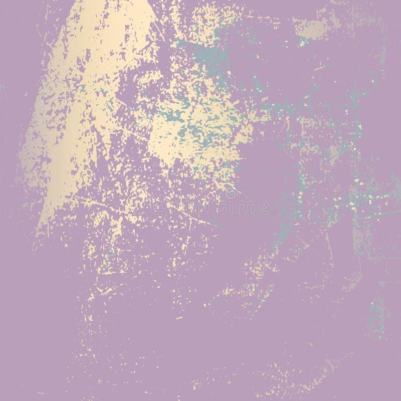 Efeito abstrato de Pattina do Grunge ilustração stock