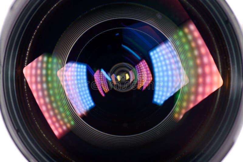 Efeito da luz de Len fotos de stock