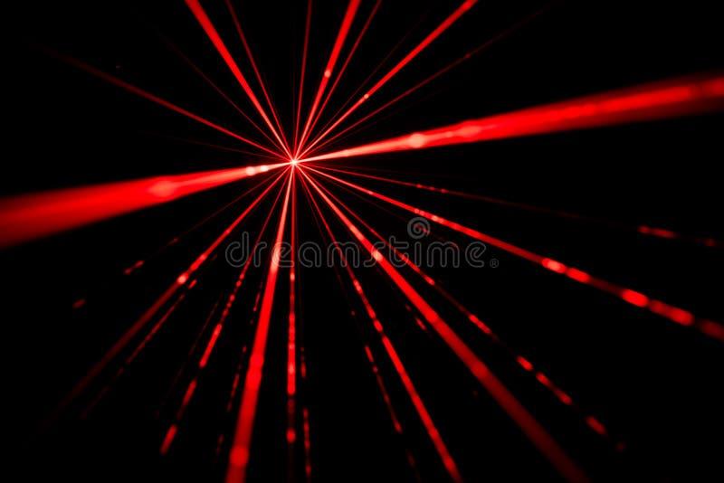 Efeito da luz do raio laser fotos de stock