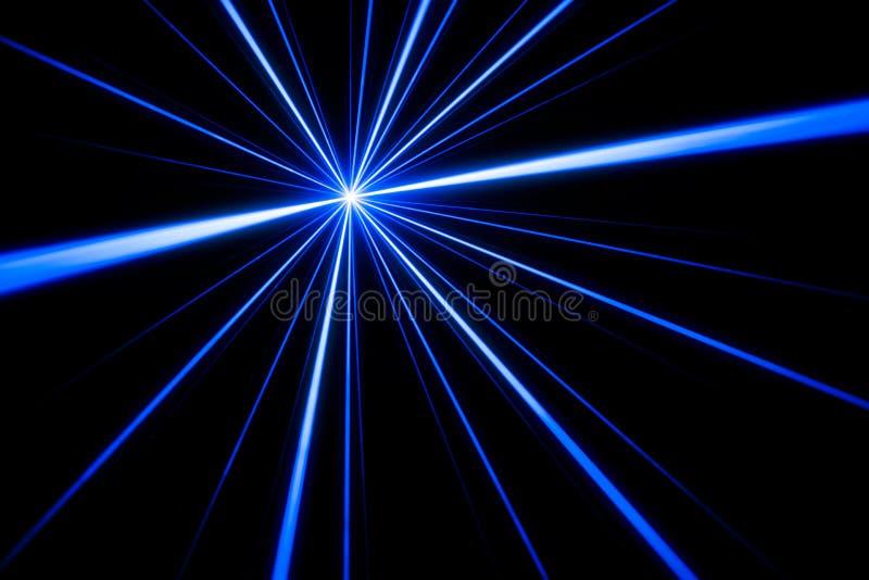 Efeito da luz do raio laser ilustração stock