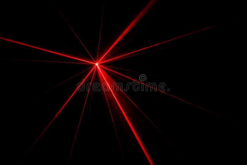Efeito da luz do raio laser foto de stock