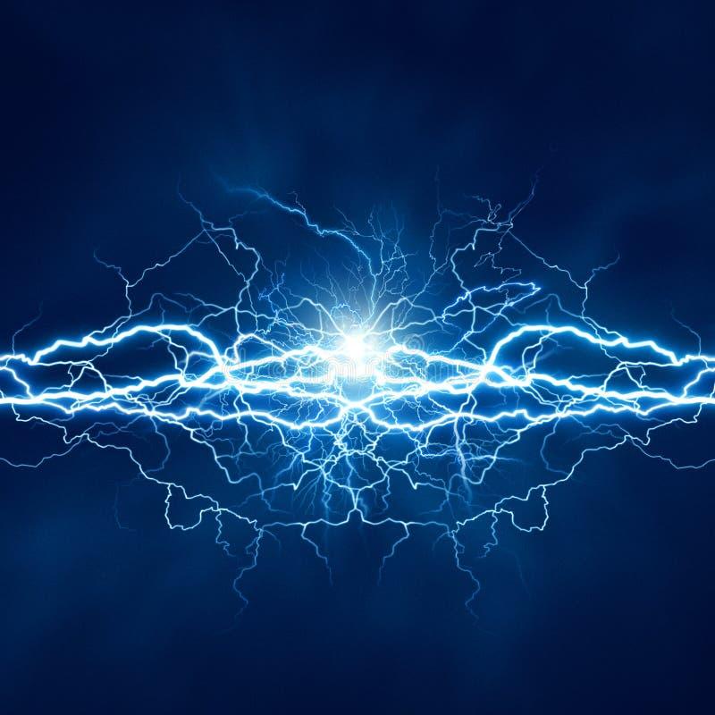 Efeito da luz elétrico ilustração royalty free