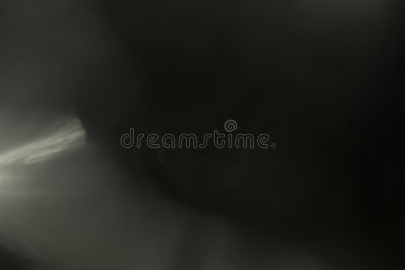 Efeito da luz real do alargamento da lente Escape de Ray imagem de stock