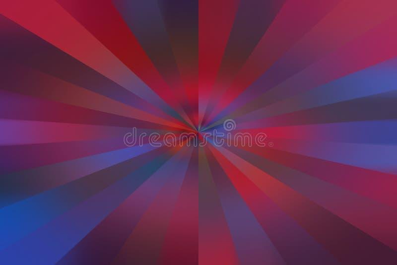 Efeito de estouro colorido do sumário ilustração stock