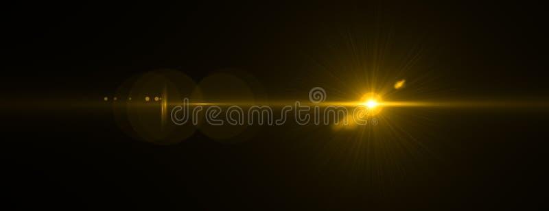 Efeito do alargamento da lente rendição 3d ilustração royalty free