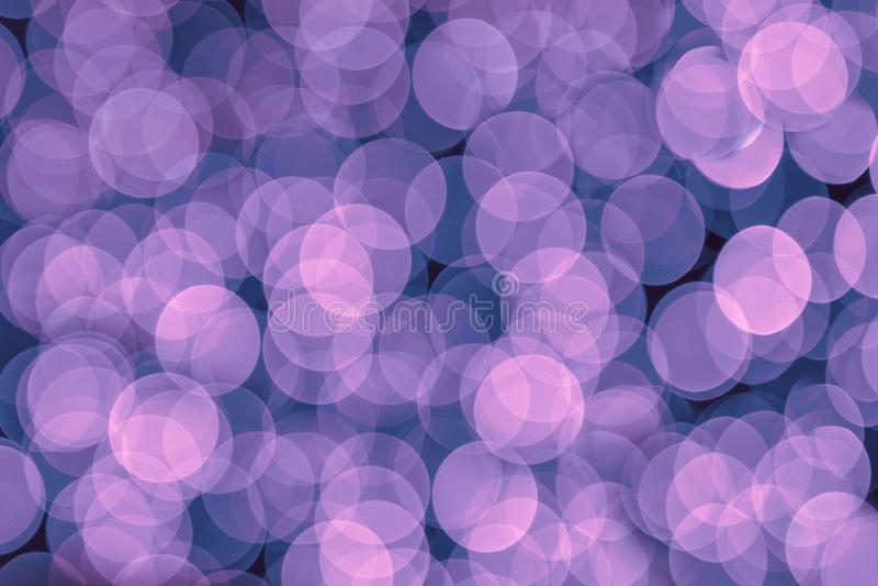 Efeito do bokeh do fundo no rosa e azul abstratos fotos de stock