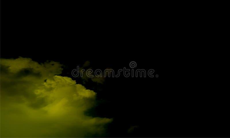 Efeito especial transparente da n?voa ou do fumo Fundo branco da opacidade, da n?voa ou da polui??o atmosf?rica Ilustra??o do vet fotografia de stock