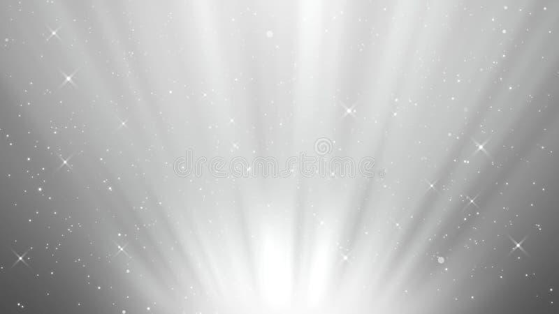 Efeito mágico da partícula do fundo, fundo simples ilustração royalty free