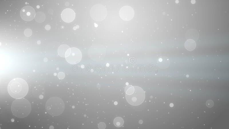 Efeito mágico da partícula do fundo, fundo simples ilustração do vetor