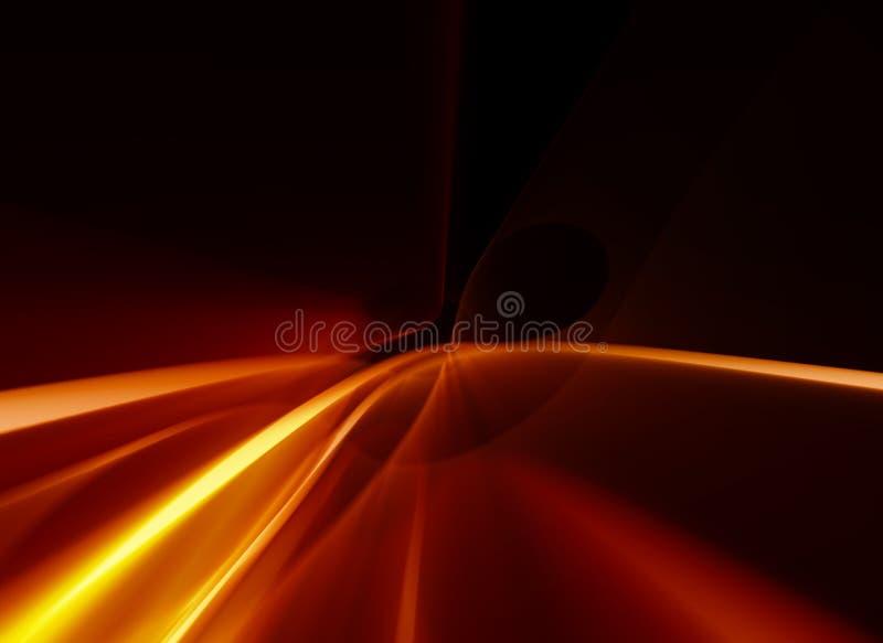 Efeitos da luz 14 ilustração stock