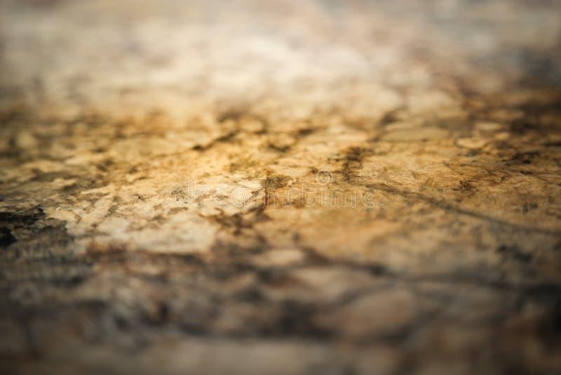 Efekt marmurowy na wierzchu licznika kuchennego - marmur Faux zdjęcie stock