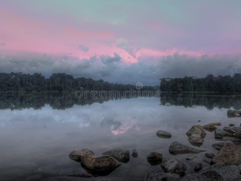 efemeryczny wschód słońca zdjęcie royalty free