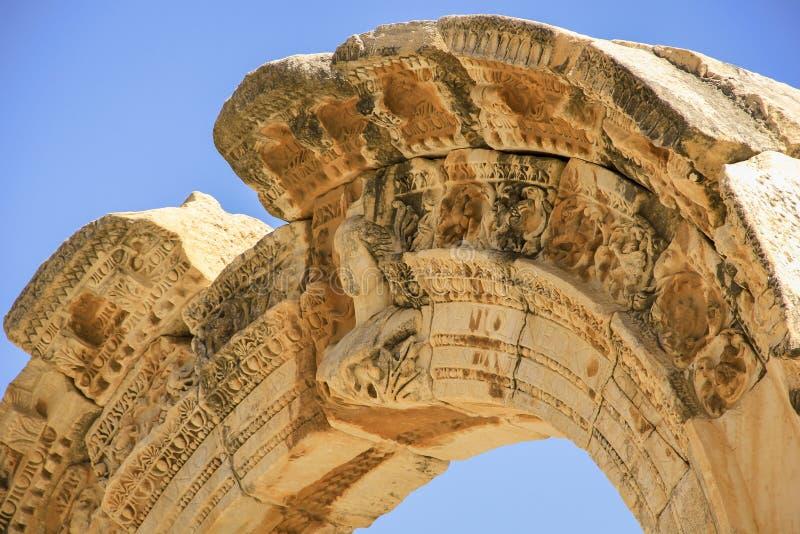 Efes历史站点 免版税库存照片