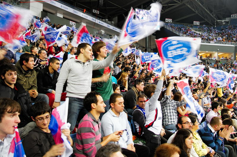 Efes Pilsen Supporters Editorial Image
