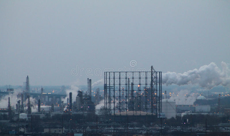The Effects of Pollution royalty free stock images