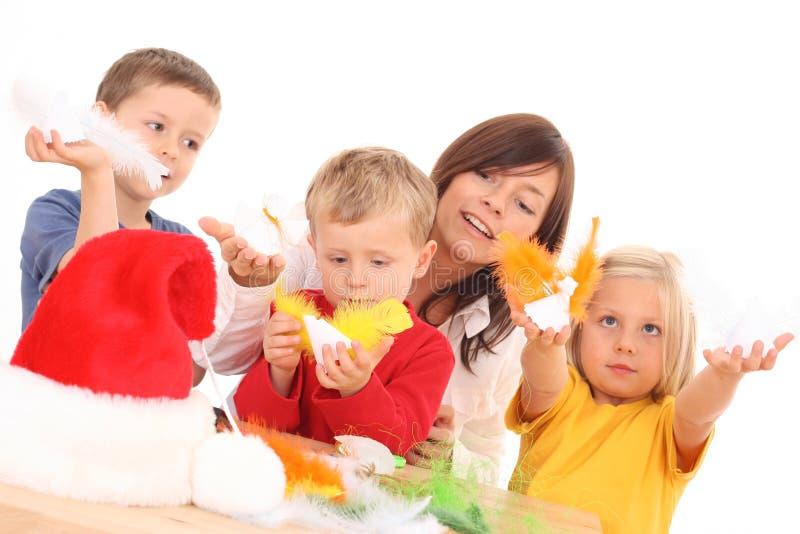 Effectuer Des Decoratons De Noël Photos stock