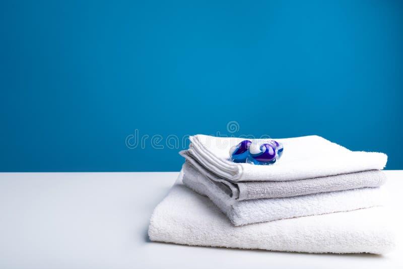 Effektiv abstergent och ren tvätteri royaltyfria bilder