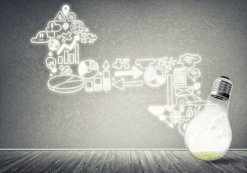 Download Effektive Marketing-Ideen stockfoto. Bild von kleber - 96926640