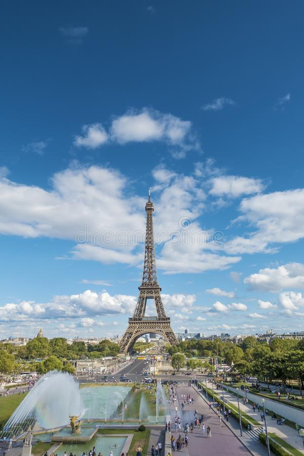Effel塔在巴黎 免版税库存照片