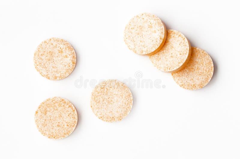 Effervescent таблетки стоковое изображение rf