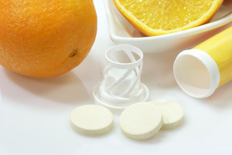 effervescent таблетки стоковое изображение