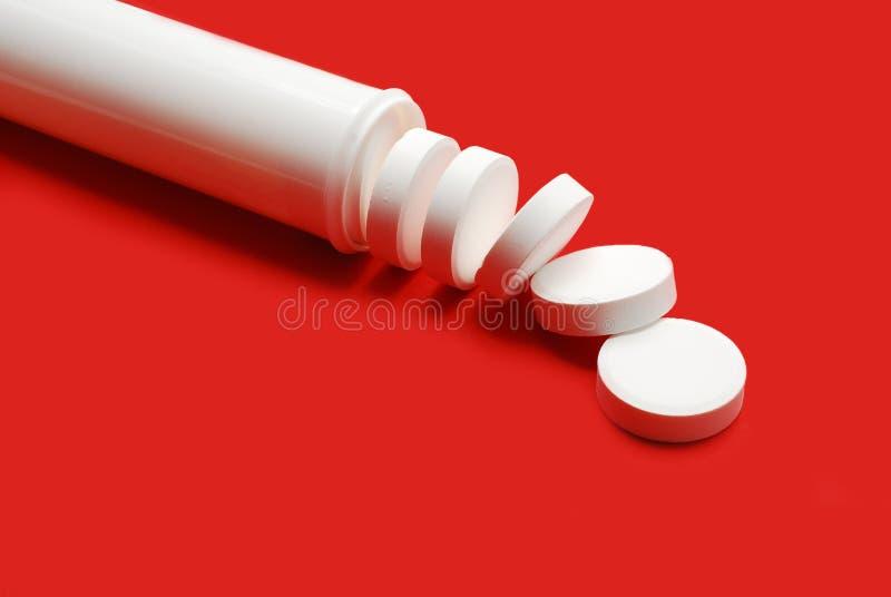 effervescent таблетки стоковая фотография rf