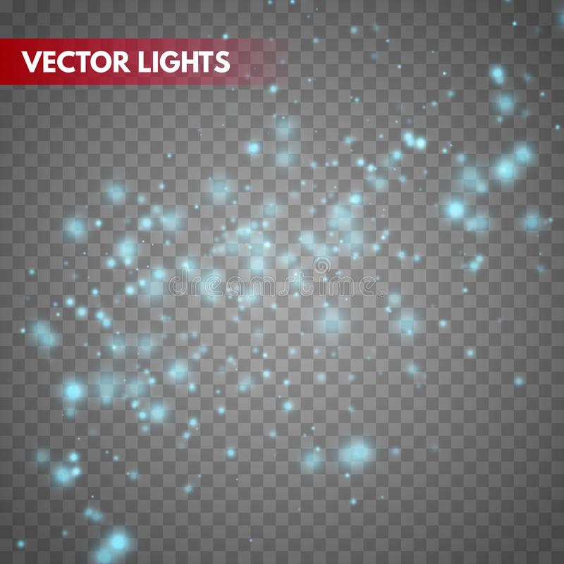Effet de la lumière de lueur illustration de vecteur