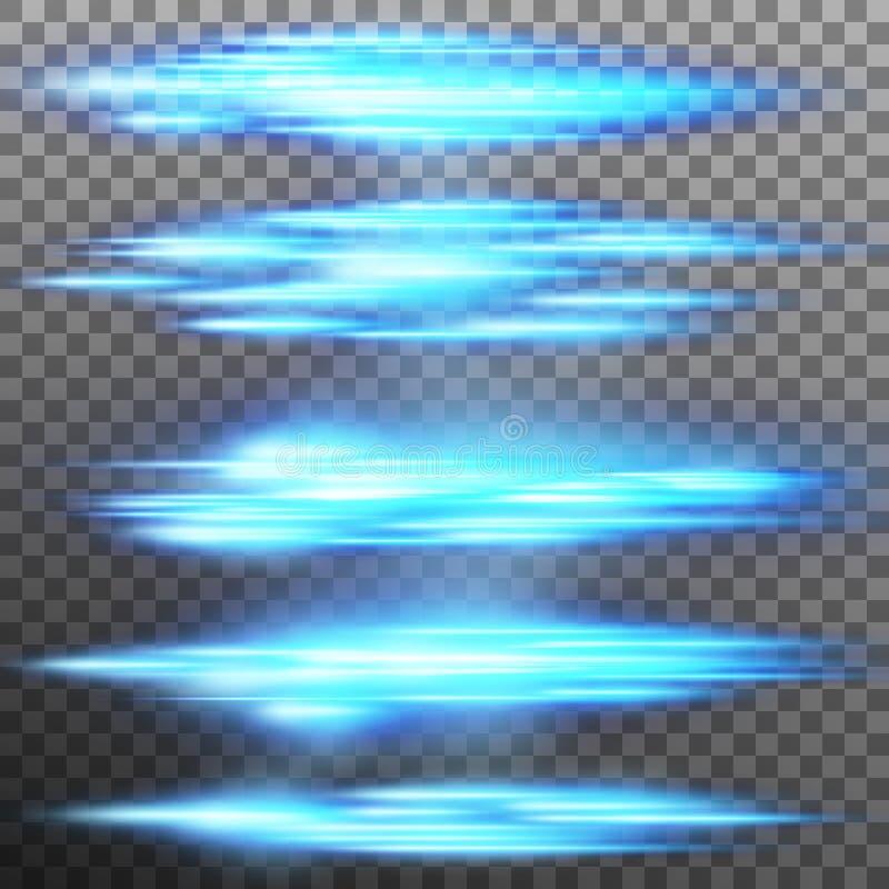 Effet de la lumière spécial, fusée, s'allumant Vecteur d'ENV 10 illustration de vecteur