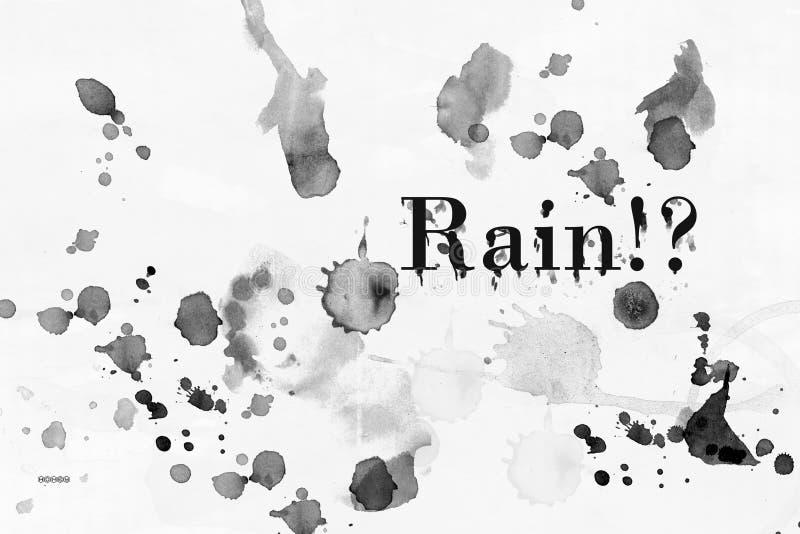 Effet de pluie image libre de droits