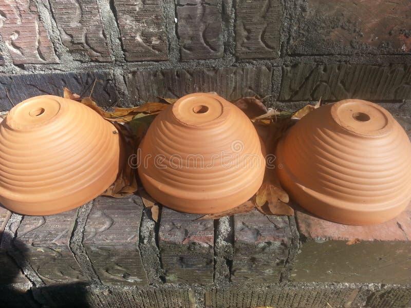 Effet de poterie photo stock