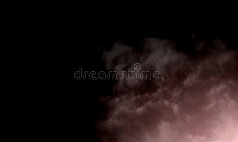 Effet sp?cial de brouillard ou de fum?e Fond d'opacit?, de brume ou de brouillard enfum? Illustration de vecteur illustration stock