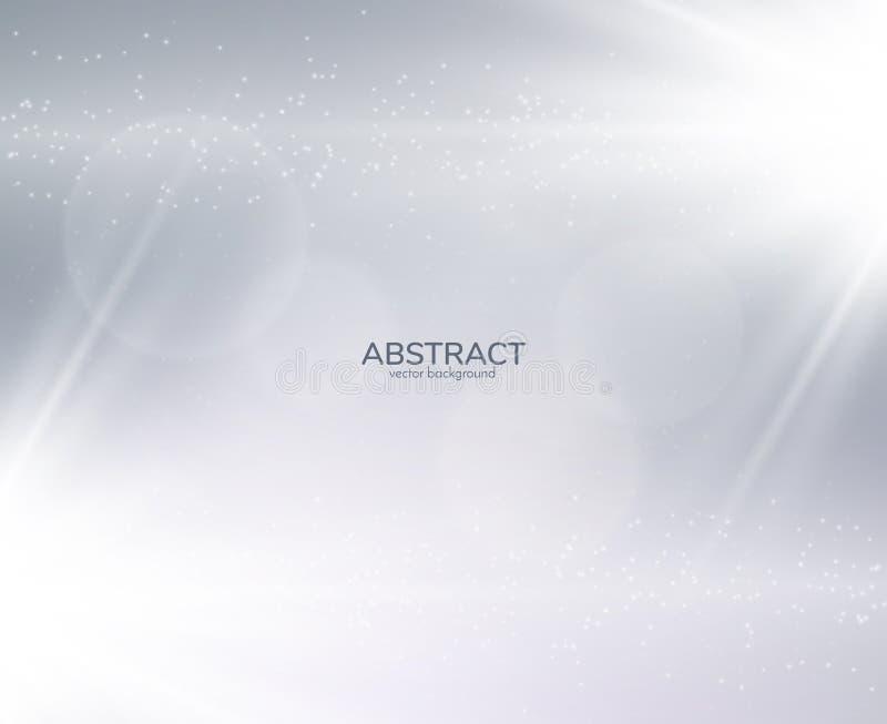 Effet transparent en spirale brillant de lueur Vecteur eps10 illustration libre de droits