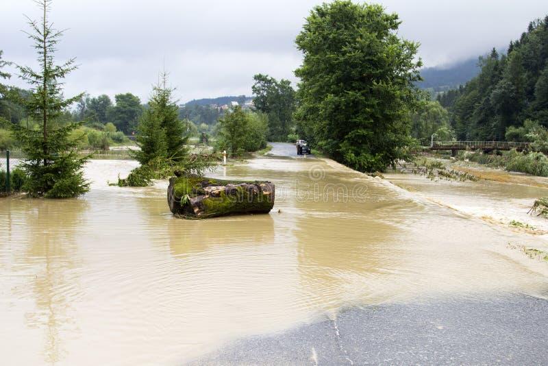 Effets de l'inondation images libres de droits