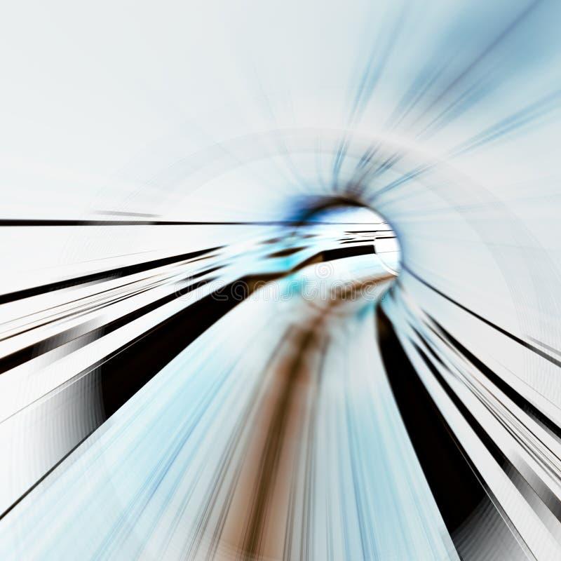 Effets de la lumière de vitesse photos stock