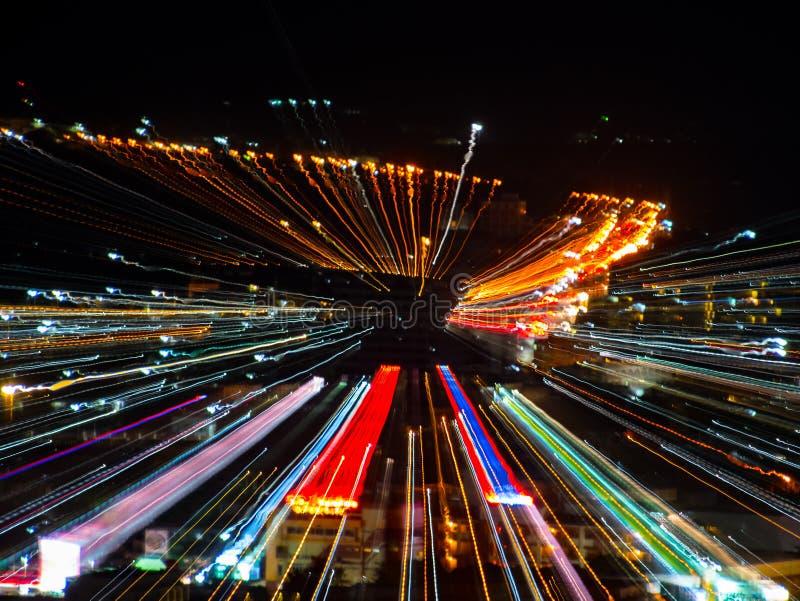 effetto dello zoom di scoppio fotografie stock libere da diritti