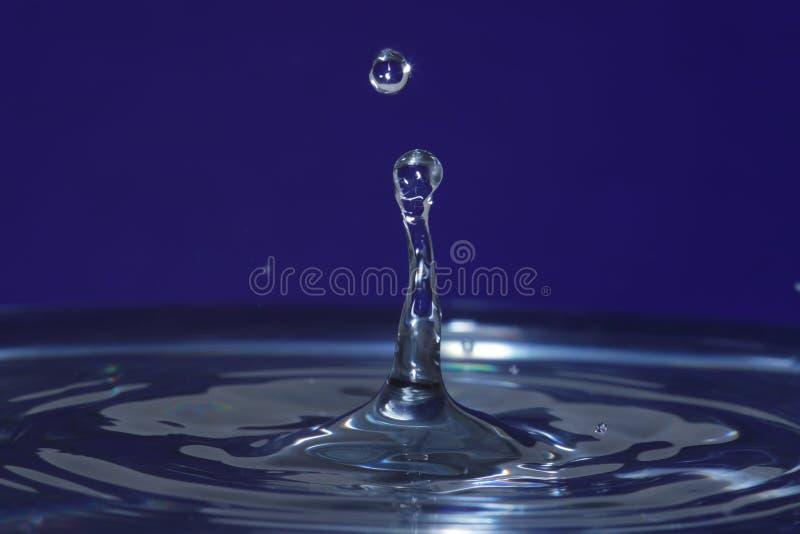 Effetto di goccia dell'acqua fotografia stock libera da diritti