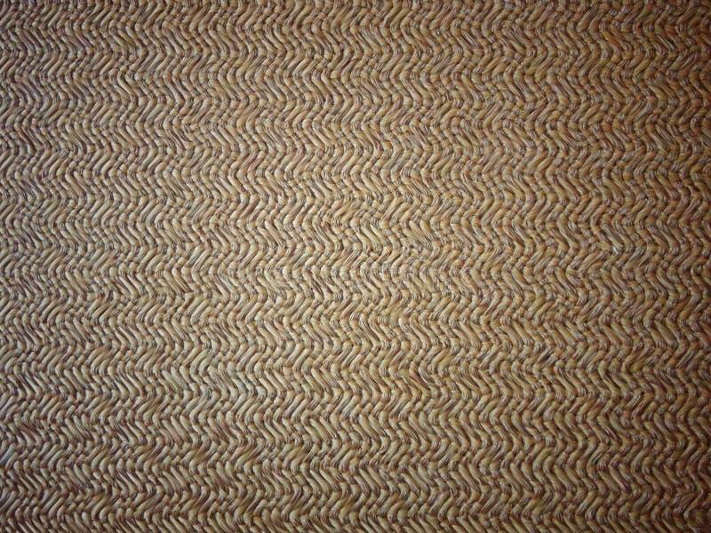Effetto ondulato di distorsione di una coperta beige tessuta del panno immagini stock libere da diritti