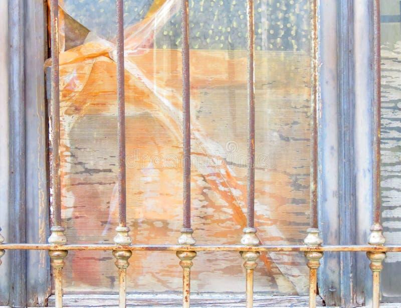 Effetto pittorico naturale della finestra fotografia stock libera da diritti
