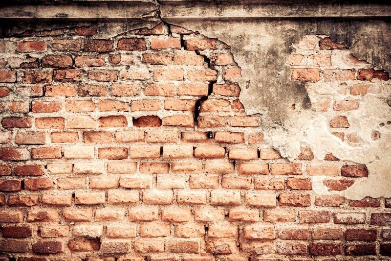 Effetto Scuro Di Scenetta Sul Vecchio Muro Di Mattoni Rosso Immagine Stock - Immagine di interno ...