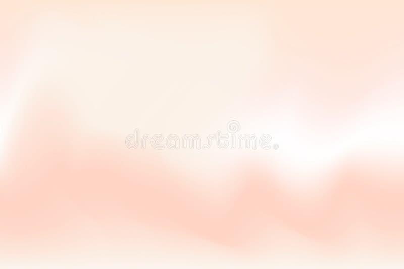 Effetto variopinto vago di acqua dell'onda molle rossa e marrone di colore per l'estratto del fondo, pendenza dell'illustrazione  royalty illustrazione gratis