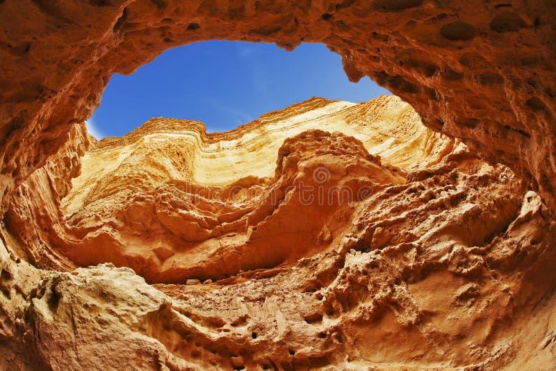 Efficace canyon del scanalatura-foro fotografia stock
