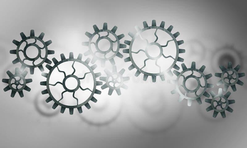 Efficiënt werkend mechanisme royalty-vrije stock afbeelding