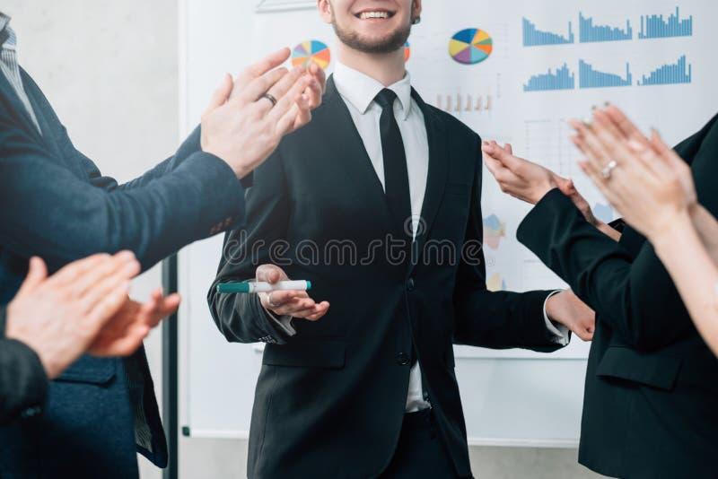 Effici?nte bedrijfsstrategie succesvolle prestaties royalty-vrije stock foto's
