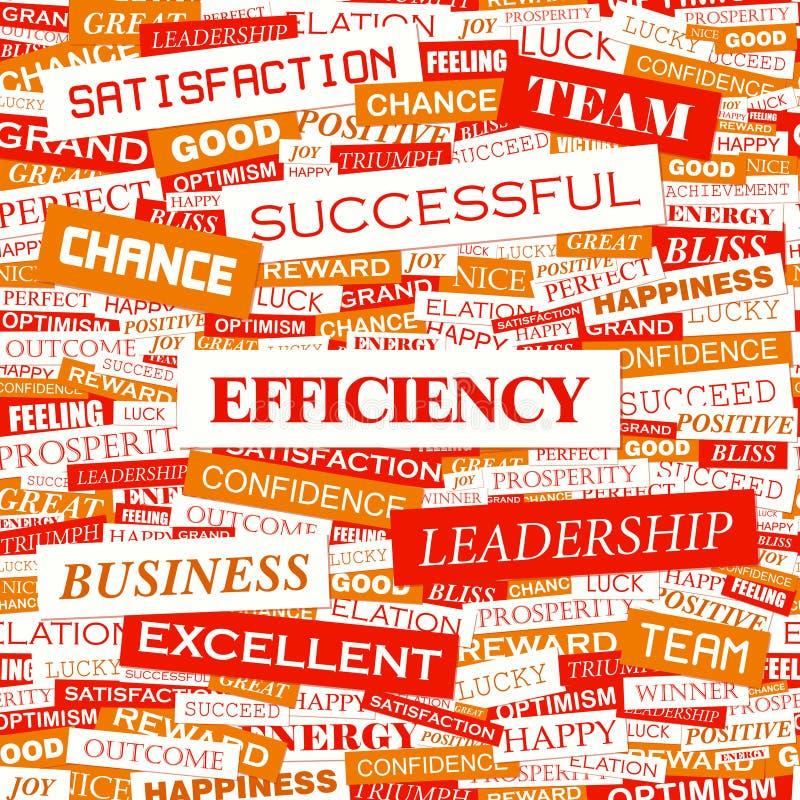 Download EFFICIENCY stock vector. Image of improvement, background - 34595507