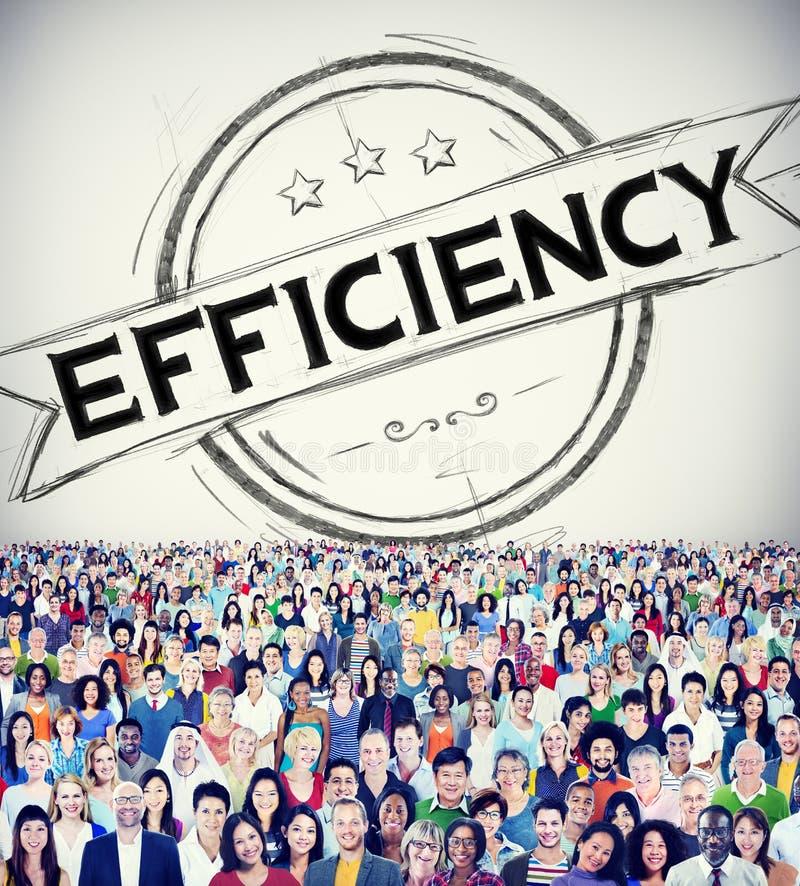 Efficiency Improvement Mission Motivation Development Concept stock image