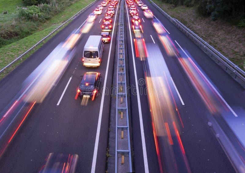 Effondrement d'embouteillage photos libres de droits