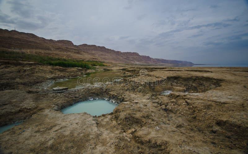 Effondrements dans le désert photographie stock libre de droits