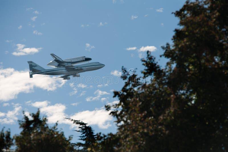 Effort de navette spatiale photos libres de droits