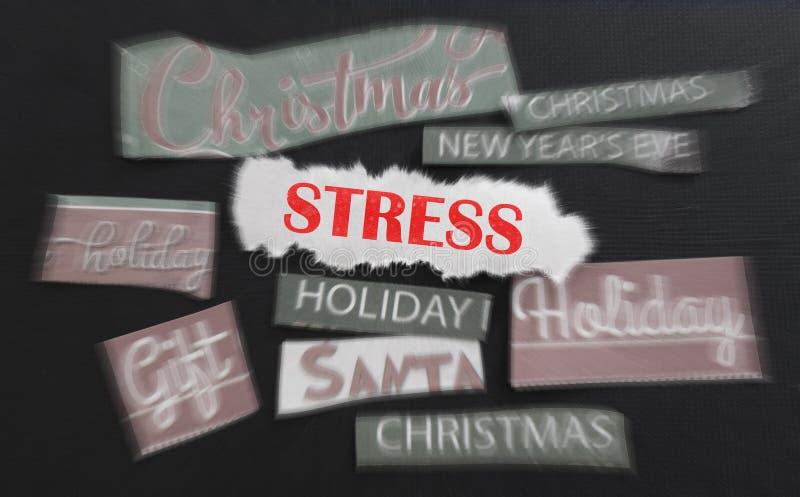 Effort de Noël photographie stock libre de droits